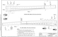 Drawing M-22c Entrance And Exit Ramps Rumble Strip Installation Details